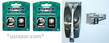 18 Wilkinson FX Diamond blades ft Schick Tracer Razor Cartridges Refills Germany