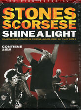 """THE ROLLING STONES - MARTIN SCORSESE """"SHINE A LIGHT"""" SPANISH SPECIAL EDITION DVD"""