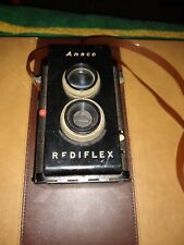 Ansco Rediflex  1950's Twin Lens Reflex Camera