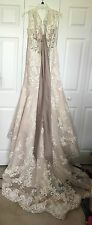Morilee by Madeline Gardner ivory wedding dress size 12