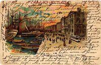 CPA MARSEILLE L'Hotel de Ville et Quai du Port Vieux (339587)