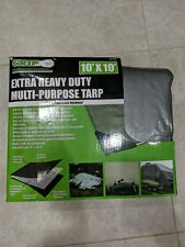 Grip Extra Heavy Duty Multi-Purpose Tarp 10'X10'