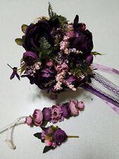 Brautstrauß Set Wedding Bouquet Hochzeitsstrauß 3 In 1 Standesamt Blumenstrauß