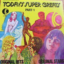 Today's Super Greats Part 1  LP   Mint Condition