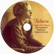 REBECCA by Daphne du Maurier , Orson Welles 1 Audio CD