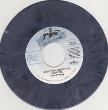 ELVIS PRESLEY - I Want You I Need You I Love You 7""