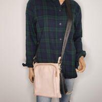Steve Madden Pink Gold Tone Faux Leather Bglamm Logo Tassel Purse Crossbody Bag