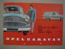 OPEL  Caravan  brochure / Prospekt  1956.