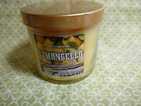 Bath & Body Works LIMONCELLO Jar Candle 4 oz NEW ITEM Lemon Zest Sugar Lemons