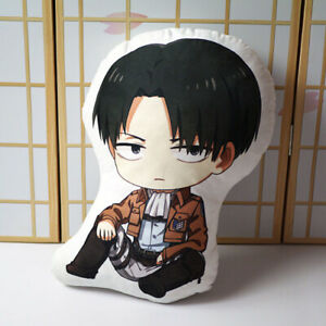 Attack On Titan Levi·Ackerman Anime Double-sided Plush Cushion Pillow Doll Toys