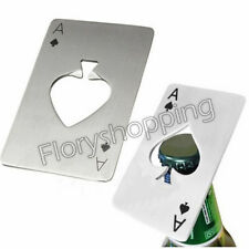 Beer Cap Bottle Opener New Playing Card Ace of Spades Poker Bar Tool Soda  Gift