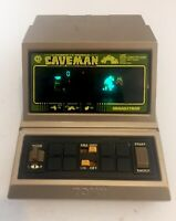 Vintage GRANDSTAND Caveman video game 1980's retro electronic *WORKING*