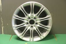 "1 GENUINE BMW 3 SERIES E46 & Z4 E85 E86 MV2 18"" ALLOY WHEEL 7896470 FRONT 8J"
