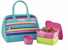 Tupperware Summer Jam Lunch Set Insulated Bag Lunch Box Snack Cup Lunch It  New
