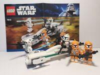 Lego StarWars Clone War Clone Trooper Battle Pack Set 7913 Complete/Instructions