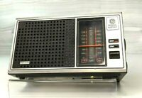 Vintage 1981 GE General Electric Tabletop Tuner Radio AM/FM Mod:7-4115B - Tested
