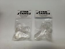 Star Stands Star Wars Type 1 Vintage Narrow Display Action Figure Stands...