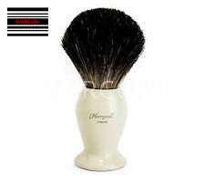 Pure Badger Hair Shaving Brush Stainless Steel base Handle Stylist Razor Salon