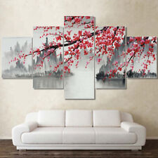 Chinese Painting Scenery 5 piece HD Poster Art Wall Home Decor Canvas Print