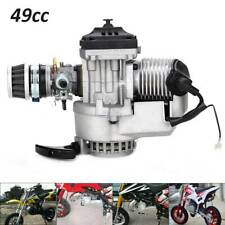 49cc Mini Moto Bike 2 Stroke Complete Engine Metal Pullstart Carburettor Filter