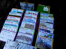 Great Bible Adventures Bible Sunday School Story Cards box Tin Children learning
