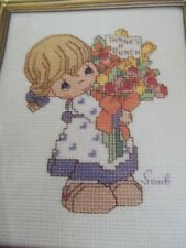 Precious Moments cross stitch chart #513