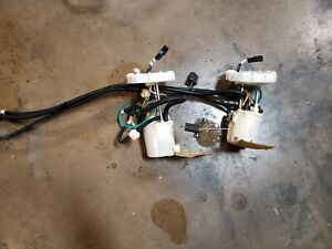 2003-04-2005 JAGUAR S-TYPE R XJR SUPERCHARGE FUEL PUMPS 2R8U9H307DA 2R8U9H307CA