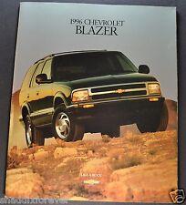 1996 Chevrolet Blazer Truck Catalog Brochure LS LT 4x4 Excellent Original 96