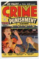 Crime and Punishment No. 31 October 1950 Comic Book Vintage - BJ113