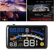 12v5.5''OBII Car HUD Head Up Display Digital Type Speeding Warning System Engine