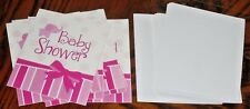 Baby Shower Invitations 10 Pk Set With 10 Envelopes Pink Shower @My Other Items