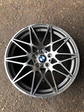 "X4 NEW 19 Inch BMW 666M Competition Alloy 19"" BMW M3 M4 Wheels 3 4 5 Series 8/9J"