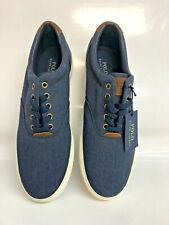 Polo Ralph Lauren Vaughn Heather Rip Stop Sneaker blau/braun Gr. 45
