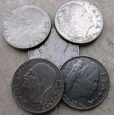 Serie di 5 Monete Regno dItalia da 20 Cent. Impero dal 1939 al 1943 - n. 1067