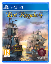 PORT ROYALE 4 PS4 GIOCO ITALIANO PLAY STATION 4 VIDEOGIOCO STRATEGICO NUOVO EU