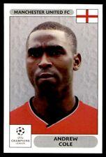 Panini Champions League 2000/2001 - Andrew Cole Manchester United FC No. 264