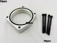 Silver Billet Aluminum Throttle Body Spacer fit 09-14 Nissan Maxima 3.5L VQ35DE