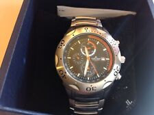 jacques lemans mens watch. NEW with tags and original box. Stainless steel