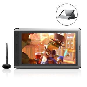 "Huion KAMVAS 16 +Stand Graphic Display Drawing Tablet Monitor 8192 15.6"" Tilt"