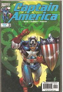 °CAPTAIN AMERICA Vol 3 #4 CAPMANIA!° US Marvel 1998 Mark Waid