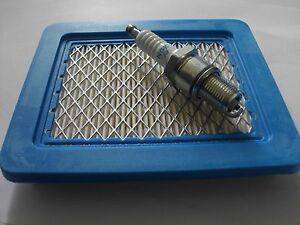 Tune Up Kit Air Filter & Spark Plug fits SOVEREIGN Mower  Honda OHC GCV Engine