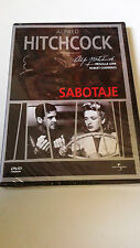 "DVD ""SABOTAGE"" PRECINTADA ALFRED HITCHCOCK PRISCILLA LANE ROBERT CUMMINGS SEALED"