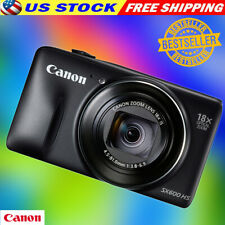 Canon PowerShot SX600 HS Digital Camera 16.0MP Automatic Face Tracking Camera