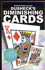 DUSHECK'S DIMINISHING CARDS -  BRAND NEW UNSEALED - FREE POST