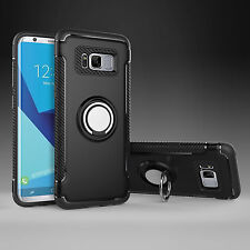 For Samsung Galaxy S9 Plus S8 Note9 Shockproof Hybrid Ring Hard Armor Case Cover