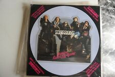 """SCORPIONS - PASSION RULES THE GAMES - VINILE - LP 45 GIRI - 7"""" EX PICTURE DISC"""