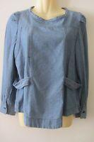 Etoile Isabel Marant denim cotton shirt, size3, AUS 8-10, pre loved
