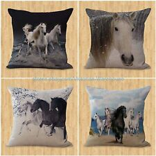 set of 4 horse pillow cushion covers equine ideas interior decorating