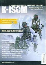 K-ISOM ii-2013 especial: moderna GEBIRGSJÄGER formación equipamiento uso
