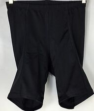 Giant Bicycle Bike Lightly Padded Adult Size Medium Shorts Black Made In USA EUC